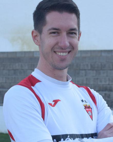 Daniel Castroverde jugador del Aspe UD Senior A