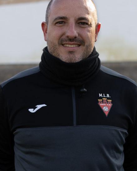 Diego Zapata Entrenador del Aspe Unión Deportiva