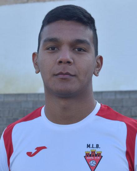 Federico Manuel Rivero es jugador del Aspe UD Senior A