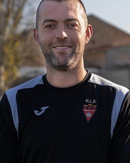 Fernando Verdú jugador del Aspe Unión Deportiva Senior