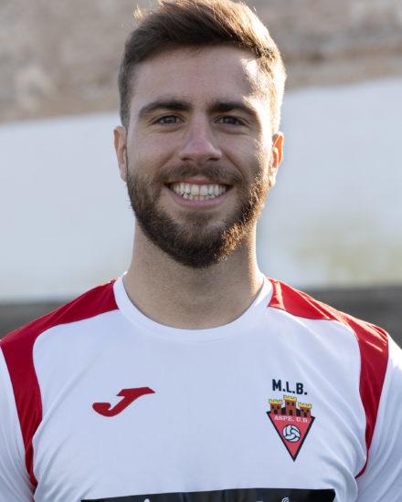 Javier García jugador del Aspe UD Senior A