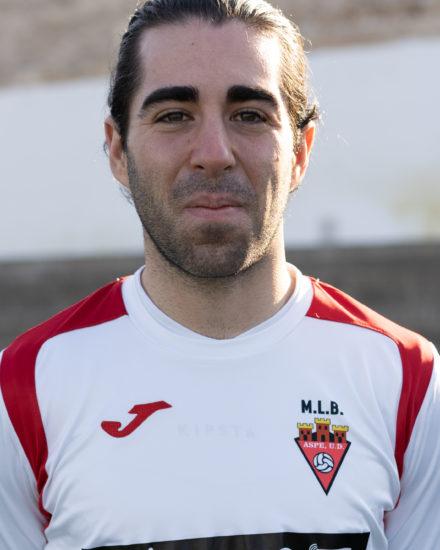 Héctor Cartagena jugador del Aspe UD Senior A