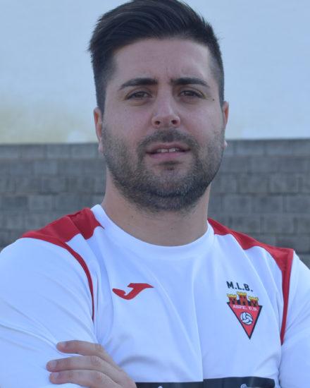 Joan Antoni Lledó jugador del Aspe UD Senior A