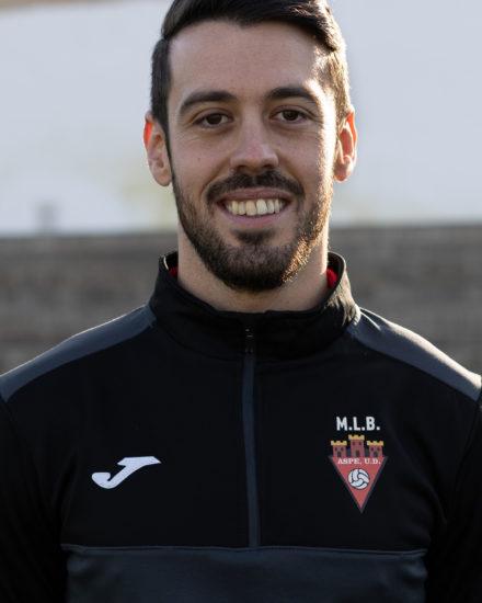 Rubén Moreno Molina cuerpo tecnico Aspe Unión Deportiva Senior A