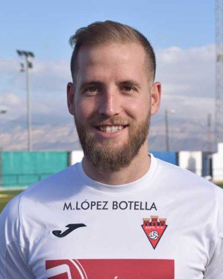 Jose Miguel Martínez jugador del Aspe Unión Deportiva Senior