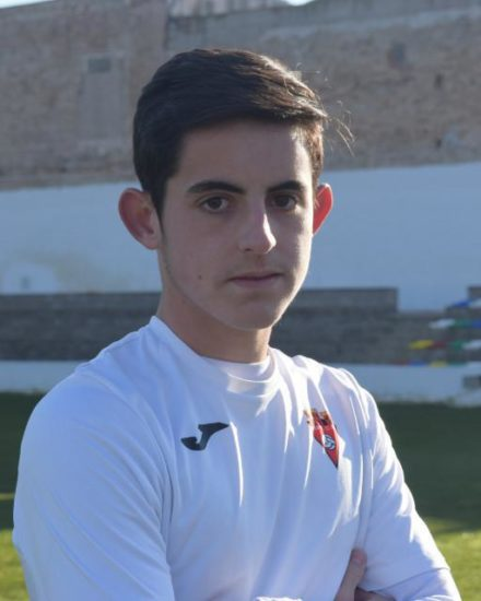 Jose Antonio Abad jugador del Aspe UD Cadete