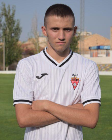 Jose López Lara es jugador del Aspe Unión Deportiva