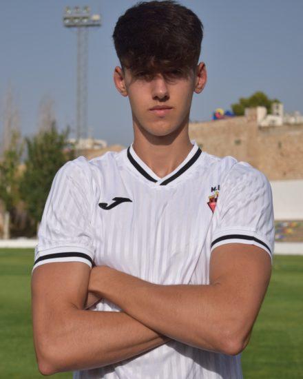 Juan Carlos Caparrós Martínez es jugador del Aspe Unión Deportiva