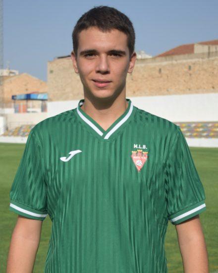 Jorge Arenas es jugador del Aspe UD