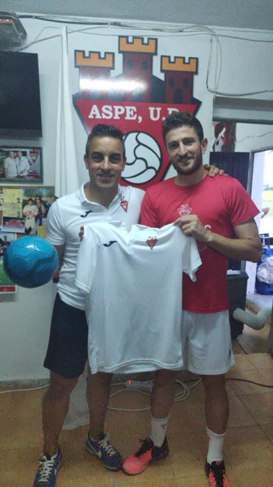 Luis Fornés coordinador de la Escuela de Fútbol del Aspe Unión Deportiva para la temporada 2019/2020