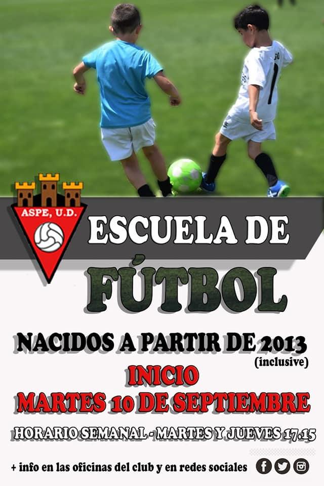 Escuela de Fútbol Aspe Unión Deportiva