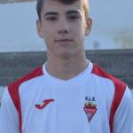 Ernesto Castell jugador del Aspe UD Cadete A