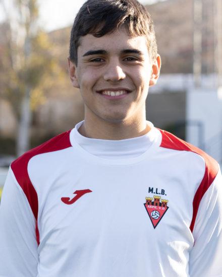 Francisco Rodríguez jugador del Aspe UD CAdete A