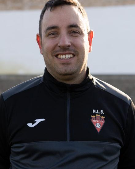 Javier López Pavía es entrenador del Aspe UD Senior B
