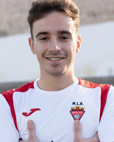 Miguel Ángel Gómez jugador del Aspe UD Senior B
