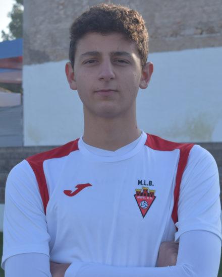 Francisco Sala jugador del ASpe UD Cadete A