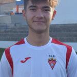 Samuel Gallardo jugador del Cadete A del Aspe UD