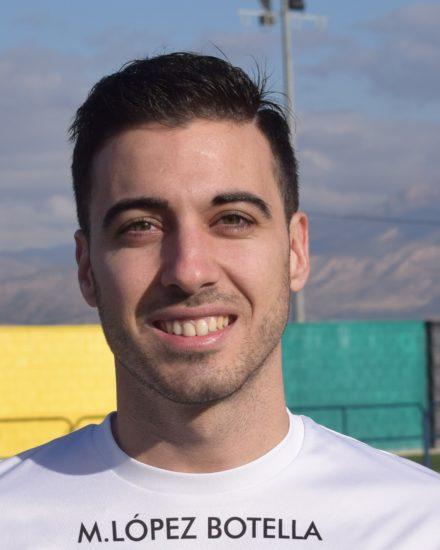 Jose Esquembre jugador del Aspe UD Senior A