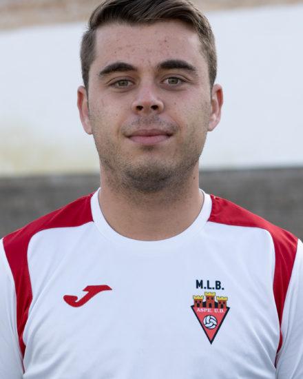 Antonio Vicedo López jugador del Aspe Unión Deportiva Senior