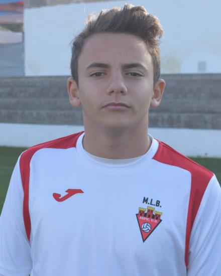 Víctor Ayala jugador del Aspe Unión Deportiva Cadete A