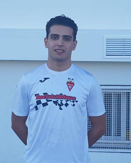 Alfonso Cervera jugador del ASpe Unión Deportiva Senior