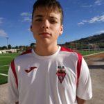 Samuele Cerdán jugador del Aspe UD Cadete A