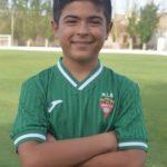 Aaron Escribano Sánchez es jugador del Aspe UD