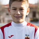 Adrián Palomares jugador del Aspe UD Alevín C