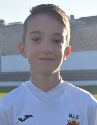 Adrián Pareja jugador del Aspe UD Alevín B