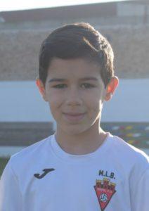 Rubén Amorós jugador del Aspe UD Alevín B