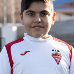 Álvaro Botella jugador del Aspe UD Alevín D
