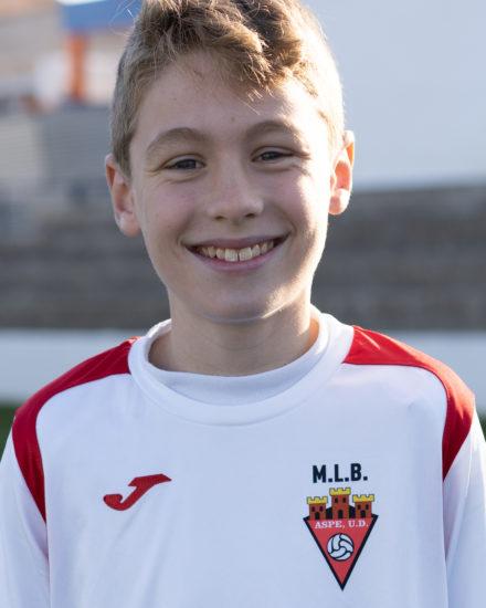 Antonio Gimenez jugador del Aspe UD Alevín D