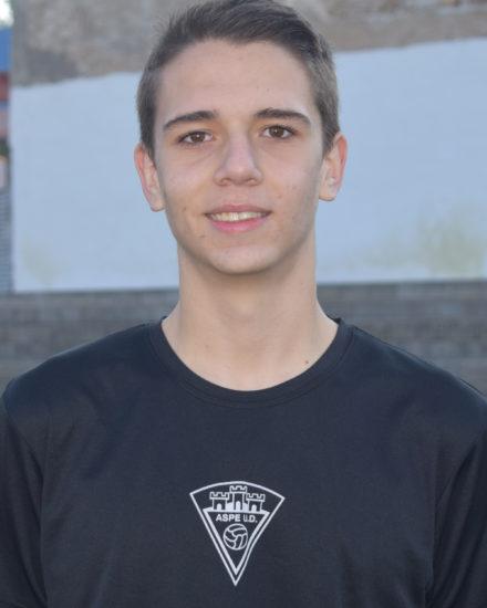 Jorge Arenas jugador del Aspe UD Cadete