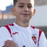 Bruno Tiago jugador del Aspe UD Benjamín A