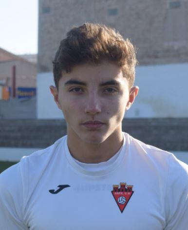Victor García (Kiko) jugador del Aspe UD Cadete