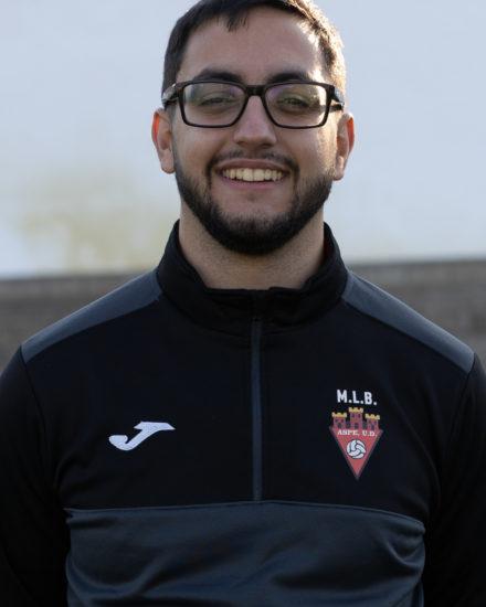 Carlos Anguiano, entrenador del Aspe UD Alevín D