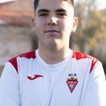 Christian Garcia jugador del Aspe UD Cadete B