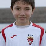 Daniel Botella jugador del Aspe UD Benjamín B