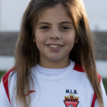 Eva Gomez jugadora del Aspe UD Benjamín B