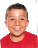 Alex Martínez jugador del Aspe UD Infantil B