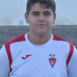 Javier Maestro jugador del Aspe UD Cadete B