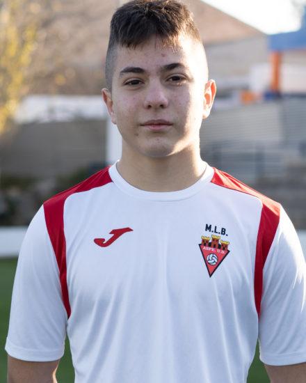 Miguel Manjón jugador del Aspe UD Cadete B