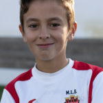 Marcos López jugador del Aspe UD Benjamín A