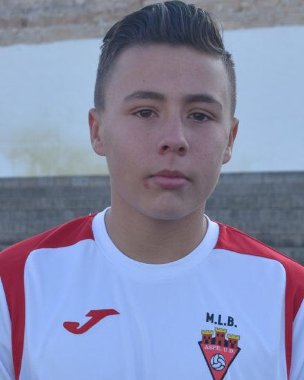 Marcos Navarro jugador del Aspe UD Alevín D