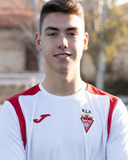 Matías Ruiz jugador del Aspe UD Cadete B