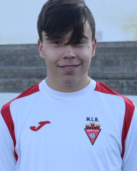 Miguel González jugador del Aspe UD Cadete B