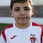 Nicolás Navarro jugador del Aspe UD Benjamín B
