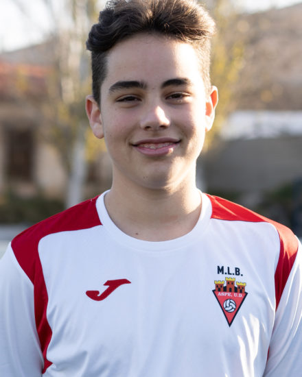 Alejandro Ortuño jugador del Aspe UD Cadete B