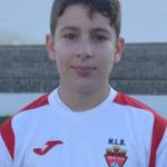 Pau Quintanilla jugador del Aspe UD Alevín D