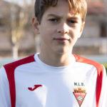 Pedro Asencio jugador del Aspe UD Alevín C
